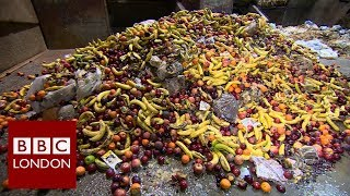 London's rubbish problem: Food waste – BBC London News