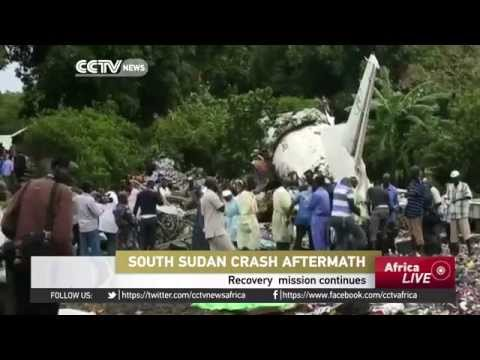 Recovery mission continues in South Sudan plane-crash-site