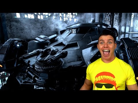 New BATMOBILE Batman vs Superman - Ask Anything!