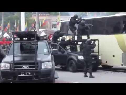 Đây là cách người nước ngoài chống khủng bố! Quá nhanh quá nguy hiểm