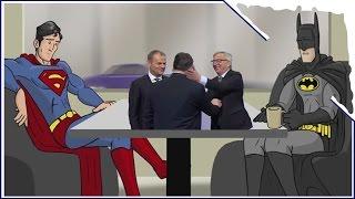 Orbán Pofon Batman Superman Story