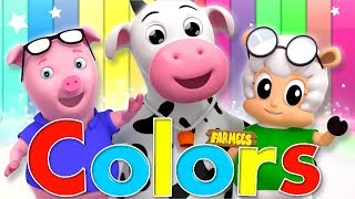Learn Colors | Learning Videos For Children | Nursery Rhymes by Farmees