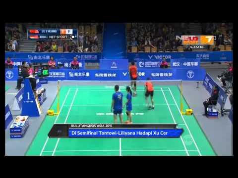 NET Sport - Indonesia Loloskan Dua Wakil Di Ajang Bulu Tangkis Asia 2015