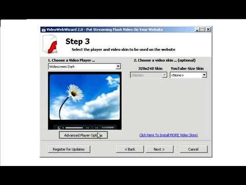 Add Streaming Video To Your Website - Put Video On Your Web Page - Embed Video.flv