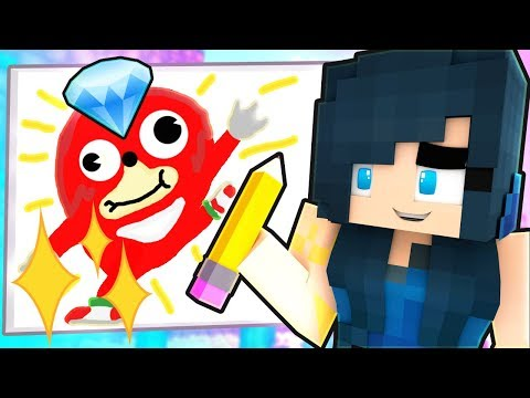 GUESS THE DRAWING IN MINECRAFT!