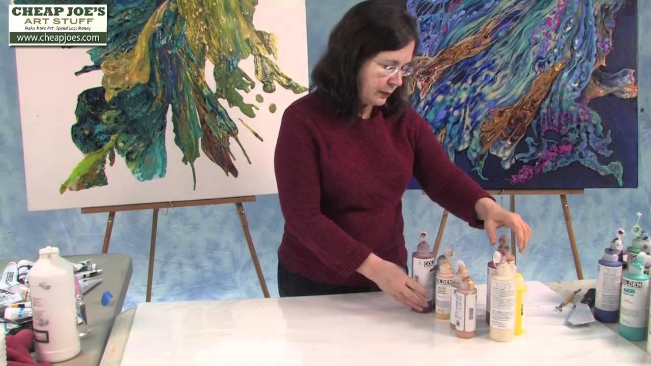 Wax On Acrylic Paint