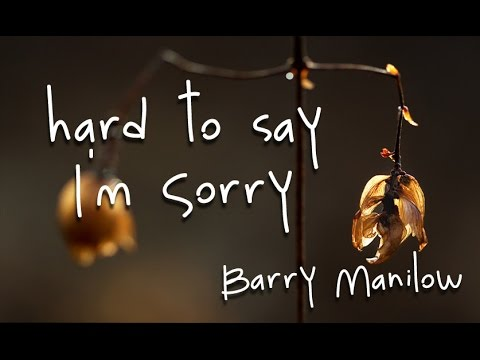 Barry Manilow - Say The Words