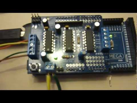 Arduino Controlled Stepper Motor