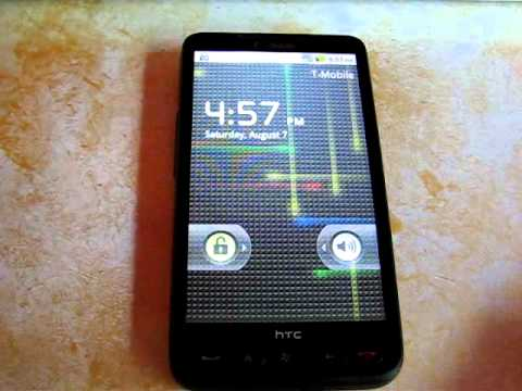 HTC HD2 Running Android 2.2 Froyo Music Videos