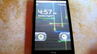 HTC HD2 Running Android 2.2 Froyo