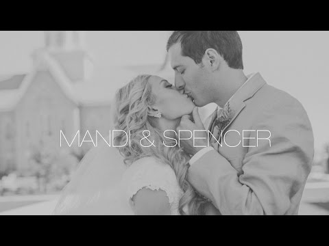 Provo City Center Temple + Backyard Reception Wedding Video for Mandi & Spencer's Utah Wedding Video