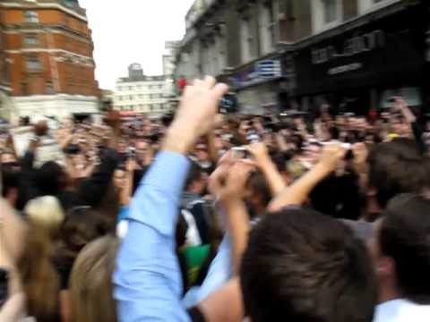 Michael Jackson Flashmob Liverpool Street - London