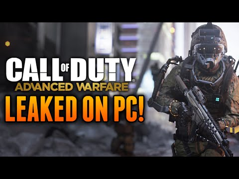 Call of Duty: Advanced Warfare LEAKED! - COD AW PC Download Leaked Online!