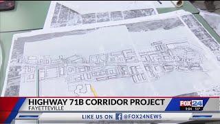 Fayetteville Officials Seek 71B Corridor Input (Fox 24)