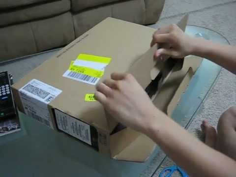 Customized Sony Vaio E Series Unboxing (2012)