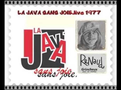 Renaud - La Java Sans Joie