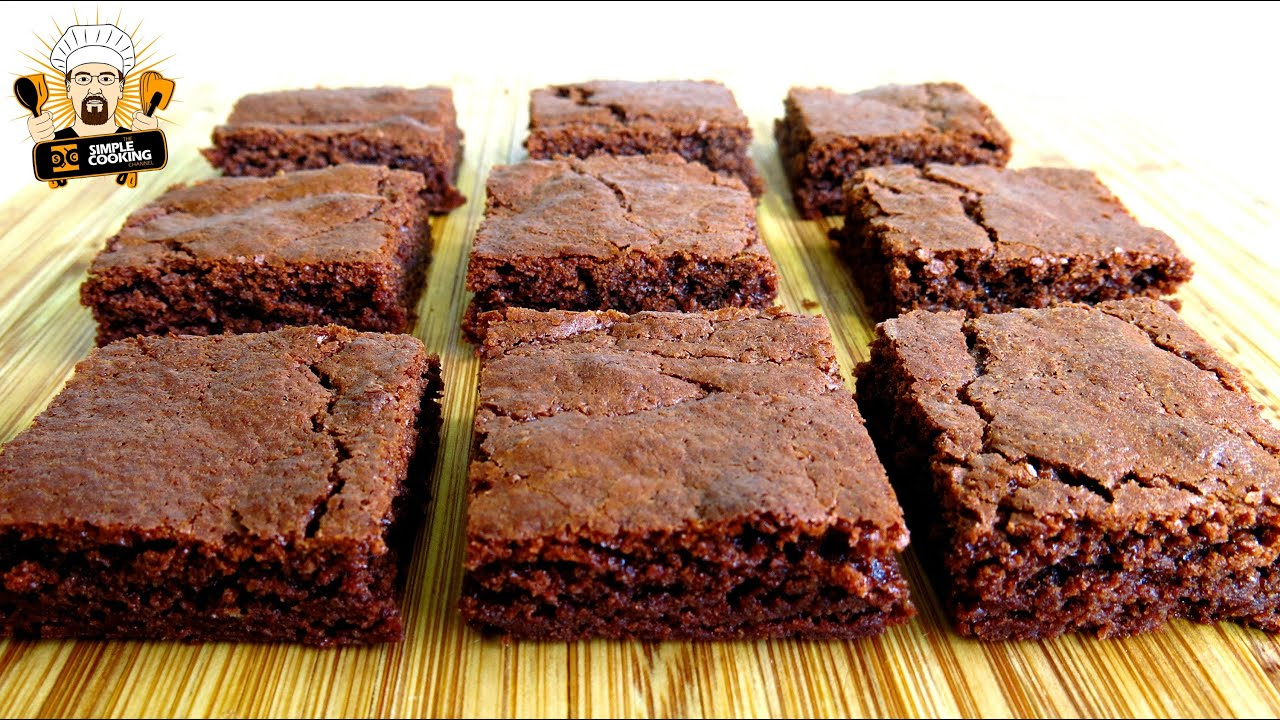 Chocolate Brownies With Nutella In