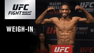 UFC Fight Night Argentina: Weigh-in