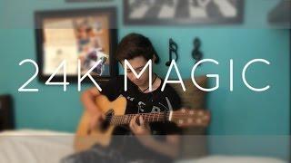 Download Lagu Bruno Mars - 24K Magic - Cover (Fingerstyle Guitar) Gratis STAFABAND