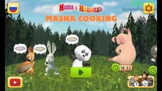 Cô bé siêu quậy Masha nấu ăn cho các bạn nhé (video game)