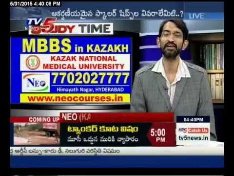 Study Time MBBS in Kazakh Kazakh National Medical University TV5 News 31 05 2015 By Raj