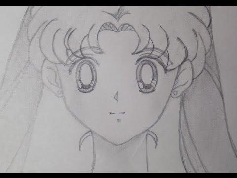 Cómo dibujar a Usagi Tsukino o Sailor Moon ✎ Rostro ♥Chy Mysteria♥