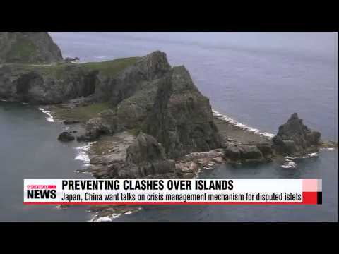 Japan, China eyeing talks on crisis management mechanism for East China Sea isla