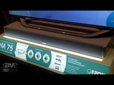 ISE 2015: Canton Talks About the DM 78 Sound Plate