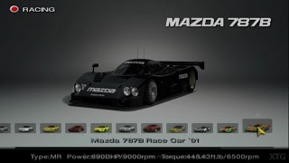 Gran Turismo 4 - Mazda Car List PS2 Gameplay HD