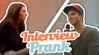 INTERVIEW PRANK!
