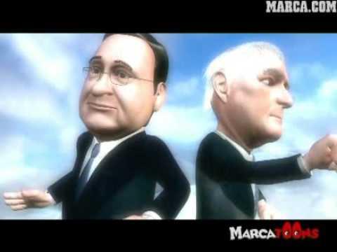 Florentino Pérez y Ramón Calderón echan de menos a CR9 - MarcaToons