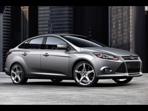 2013 Ford Focus Sedan Start Up and Review 2.0 L 4-Cylinder ...