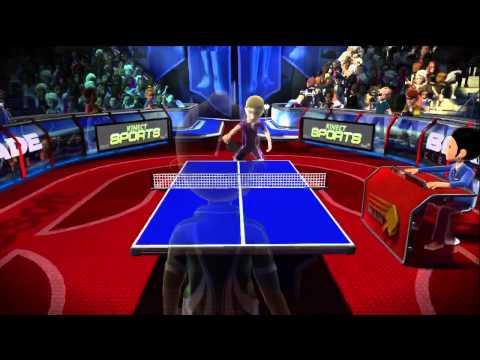 Kinect Sports: Table Tennis Gameplay HD