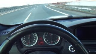 BMW M3 E92 POV - Point of View - Driver Perspective Onboard Autobahn Acceleration Autostrada Sound
