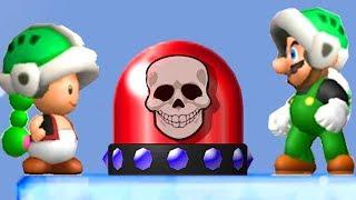 Newer Mario Bros. 3 Co-Op - Walkthrough #13 New Item