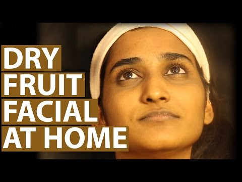 How To Do DRY FRUIT FACIAL AT HOME Step By Step