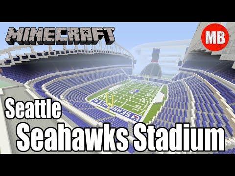 Minecraft NFL Seattle Seahawks Stadium   CenturyLink Field