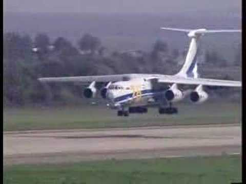 Crazy landing with IL76MF