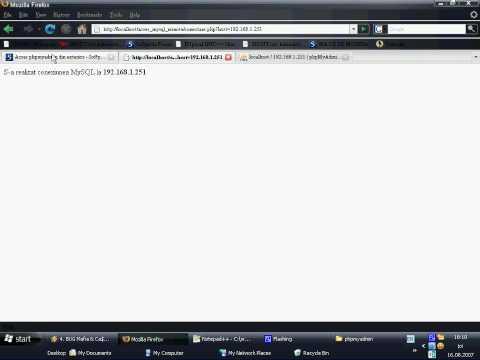 Schimbare host conectare MySQL