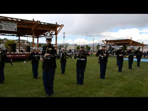 Grants High School MCJROTC Mixed Exhibition Drill Performance