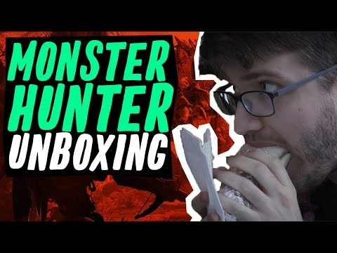 Monster Hunter World Collector's Edition Unboxing - Let's See What's Inside