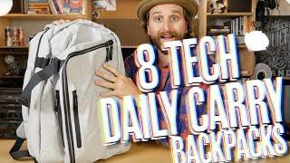 8 Tech Daily Carry Backpacks (Aer, Peak, Tom Bihn + More!)