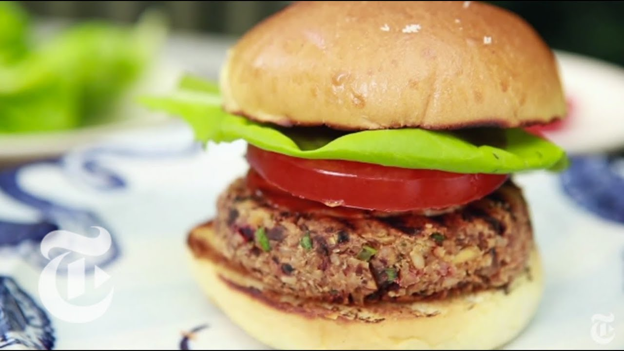 Ultimate Veggie Burger | Melissa Clark Recipes | The New York Times ...