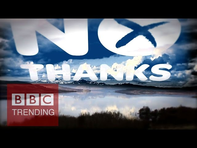Scotland's Independence Referendum: Can social media save the Union? - #BBCtrending