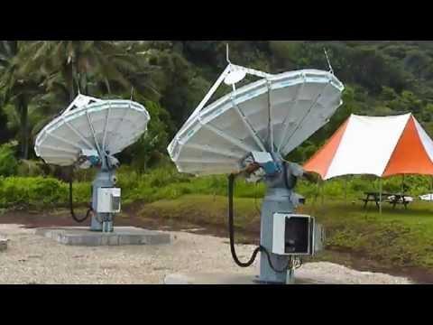 O3b's first customer terminal installation, Telecom Cook Islands.