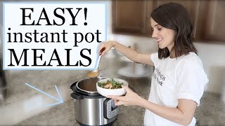 EXTREMELY EASY AND AFFORDABLE INSTANT POT MEALS // WHAT'S FOR DINNER?