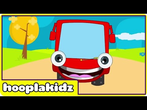 Wheels On The Bus Go Round And Round Nursery Rhyme - Spanish Version (canciones Infantiles) video