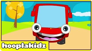 Wheels on the Bus Go Round and Round Nursery Rhyme - Spanish Version (Canciones infantiles)