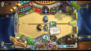 Hearthstone Druid Rank 4 Win with Big Game Hunter & Keeper of the Grove