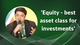 Equity - best asset class for